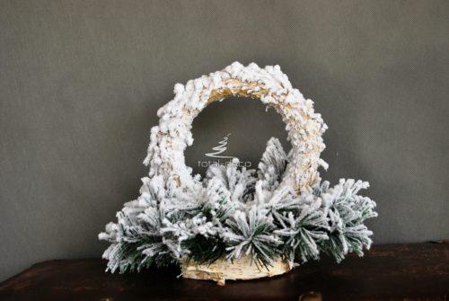 Podkład pod stroik bożonarodzeniowy